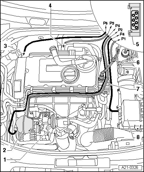 il sistema di ricircolo dei gas di scarico my07