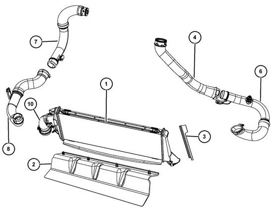 turbocompressore   intercooler my07
